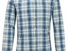 NY! TOMMY JEANS REGULAR FIT CHECKED SHIRT